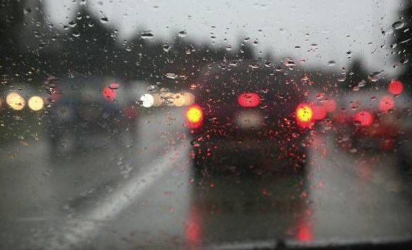 rainy road ahead